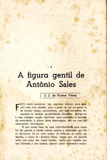 A figura gentil de Antônio Sales - Portal da História do Ceará