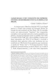 lasar segall e seu conceito de expressionismo - Unicamp