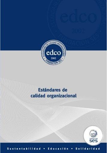 Estándares de Calidad Organizacional - Fundación SES
