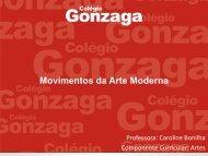 Movimentos Arte Moderna