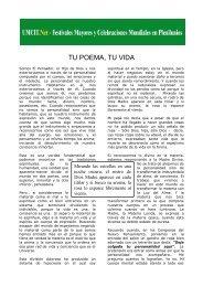 TU POEMA, TU VIDA - Umcit.net