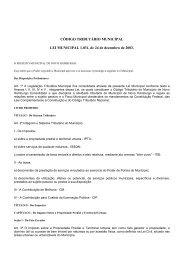 (LEI MUNICIPAL N\272 1.031consolidado 2011) - Agência de ...