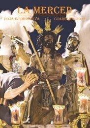 HOJA INFORMATIVA CUARESMA 2012 - hermandad de la Merced