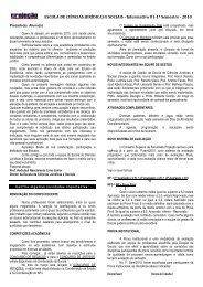 ESCOLA DE CIÊNCIAS JURÍDICAS E SOCIAIS - Informativo 01-1º ...