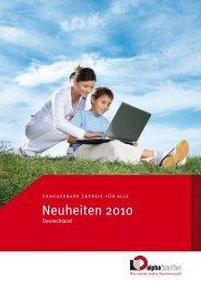 Neuheiten 2010