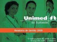 Relatório anual 2008