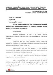 CÓDIGO TRIBUTÁRIO NACIONAL COMENTADO: doutrina - SEMEF