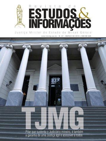 27 - Tribunal de Justiça Militar do Estado de Minas Gerais
