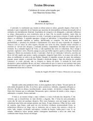 Textos Diversos - Valdir Aguilera