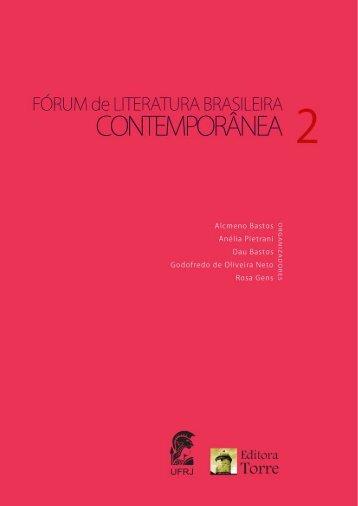 Gilberto Araújo de Vasconcelos - Forum de Literatura - UFRJ