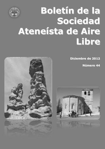 Boletín de la Sociedad Ateneísta de Aire Libre - Ateneo de Madrid