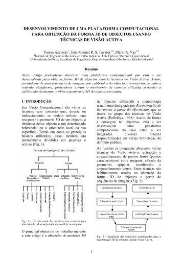 artigo - Faculdade de Engenharia da Universidade do Porto