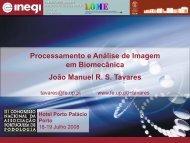 Processamento e Análise de Imagem em Biomecânica João Manuel ...