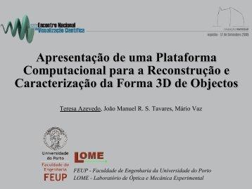 Apresentação - Faculdade de Engenharia da Universidade do Porto