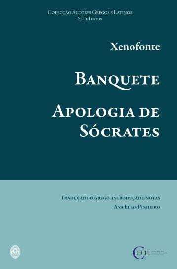 Apologia de Sócrates, Banquete - Universidade de Coimbra