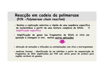 pcr - IBMC