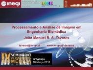 Processamento e Análise de Imagem em Engenharia Biomédica ...