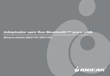 GBU211-GBU311 Manual Portuguese.p65 - IOGear