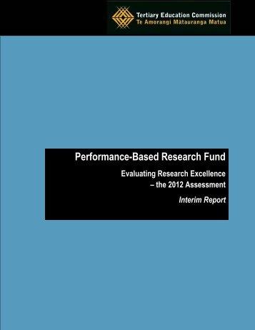 PBRF-Assessment-Interim-Report-2012