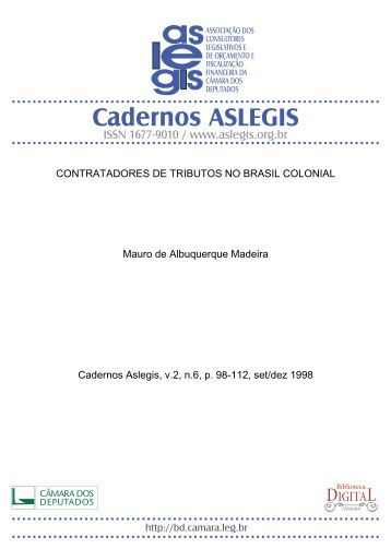 CONTRATADORES DE TRIBUTOS, no Brasil colonial