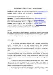 criatividade no ensino superior: novos caminhos - Revista RecreArte