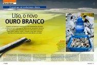 Lítio, o novo ouro branco - Casa da América Latina