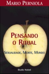 Pensando o ritual - Sexualidade, Morte, Mundo
