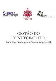 gestão do conhecimento - Departamento de Engenharia Elétrica ...