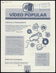 VÍDEO POPULAR - Centro de Documentação e Pesquisa Vergueiro