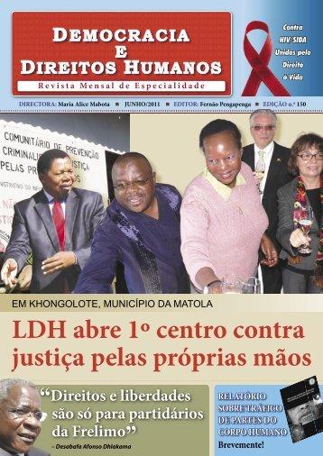 Junho/2011 - Liga dos Direitos Humanos