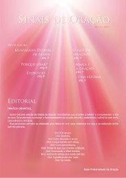 revista sinais de oração nº 3 - Voz y Eco de la Madre Divina
