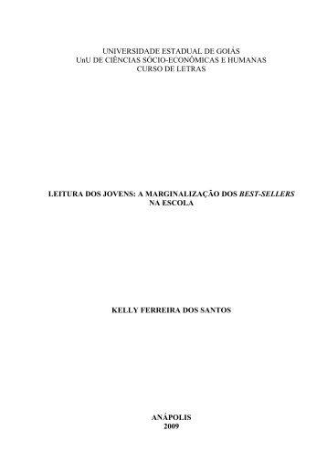 Leitura dos Jovens - II Simpósio Nacional Espaço, Economia e ...