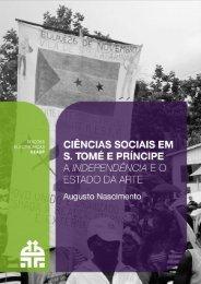 Ciências Sociais em S. Tomé e Príncipe - Centro de Estudos ...