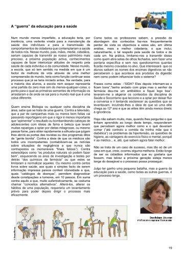 Biologia e Sociedade final com - Ordem dos Biólogos
