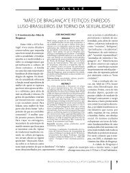 """""""Mães de Bragança"""" e Feitiços: enredos luso-brasileiros em torno ..."""