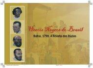 Cartilha Heróis Negros do Brasil