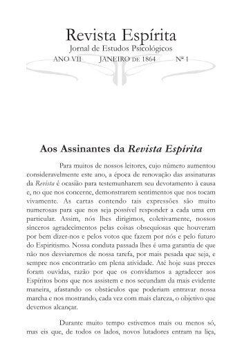 Revista espirita nº 1