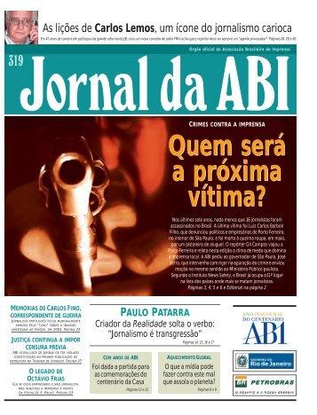 Jornal da ABI - Associação Brasileira de Imprensa