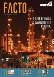 A difícil retomAdA do desenvolvimento industriAl - Abifina
