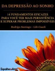 Da Depressao Ao Sonho - Rodrigo Santiago