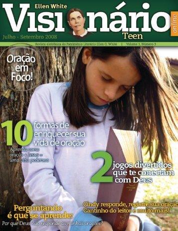 Visionário Teen - Centro de Pesquisas Ellen G. White