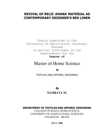 uas dharwad thesis list