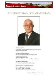 In Memoriam PCC Carlos Quinta e Costa
