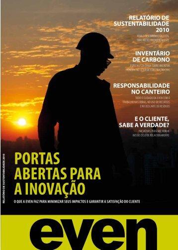 Sustentabilidade Even 2010/PDF-2.393Kb - Agenda Sustentável