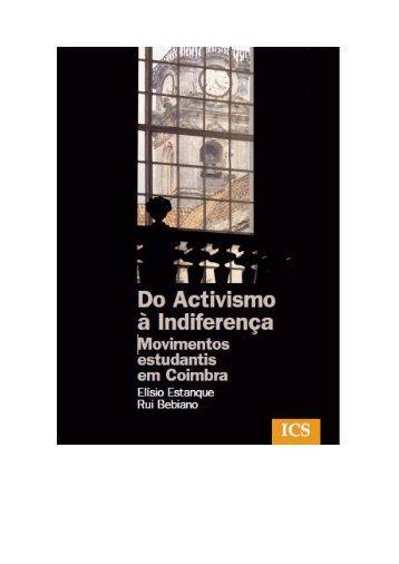 Do Activismo à Indiferença - Centro de Estudos Sociais ...