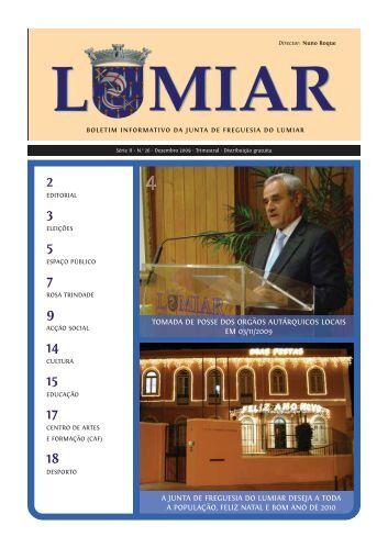 Nº 26 Dezembro de 2009 - Junta de Freguesia do Lumiar