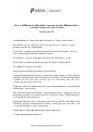 Associação Portuguesa de Apoio à Criança 1 - Governo de Portugal
