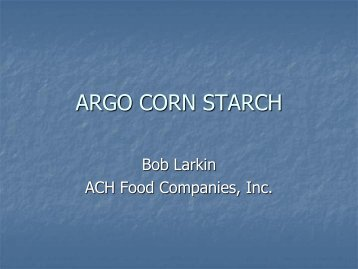 ARGO CORN STARCH - PMMI