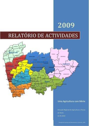 relatório de actividades - Direcção Regional de Agricultura e Pescas ...