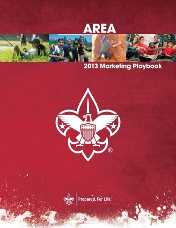 Area Volunteer Playbook - Boy Scouts of America
